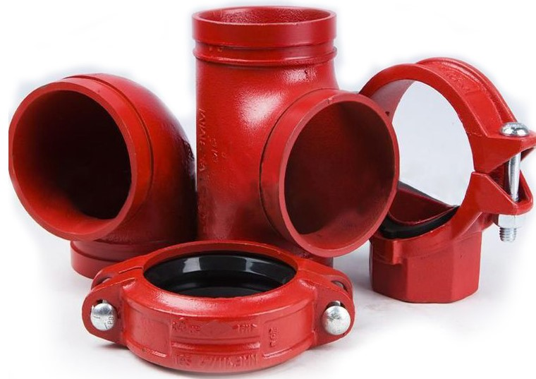 Grooved Fittings UL-FM Approved, Brand LBC